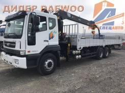 Daewoo Novus. 15.5 тонн HIAB 190 (7тонн) - 2018 год, 10 964куб. см., 15 000кг., 6x4