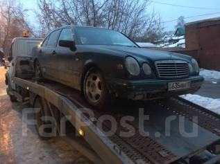 Mercedes-Benz E-Class. MERCEDESBENZ ECLASS W210 M112 B POLN RAZVOR ECT PRAKTIECKI BCE CEN NIZKIE NOBOCIVIRCK COBETCKI RAON, 112 NE DOROGO
