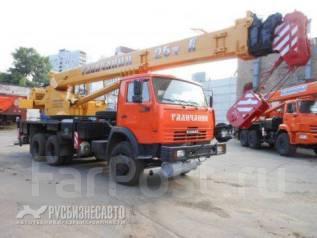 Галичанин КС-55713-1В-4. КС 55713-1В автокран 25т. с гуськом (Камаз-65115) ЕВРО-4 в Москве