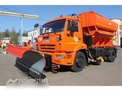 Завод ДМ. Дорожно-комбинированная машина ЭД-244КМА на шасси Камаз 53605-3950-19, 6 700куб. см.