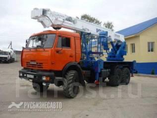 Випо-36. Автогидроподъемник ВИПО-36-01 шасси Камаз-43118 (6х6)