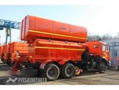 KDM ЭД-405Б. ЭД-405Б на шасси Камаз 65115-773081-42 (ПС 10 + ПМ 12,5+отвал+щетка)