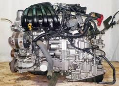 Продам Двигатель Nissan HR15 в сборе с АКПП +коса+комп. (CVT/FF)