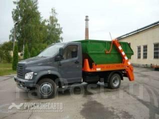 ГАЗ ГАЗон Next C41R13. Мусоровоз контейнерный МК-1412-13 на шасси ГАЗ C41R13, 4 300 куб. см.