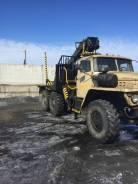 Урал 4320. лесовоз с манипулятором, 8 500куб. см., 16 000кг.