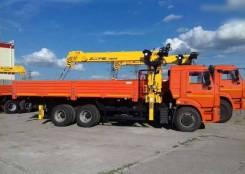 КамАЗ 65115. КМУ Камаз 65115-773094-42 + Soosan SCS746L верх. упр. + борт сталь 6,6м, 11 760 куб. см., 7 000 кг.