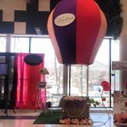Фотозона «воздушный шар» на свадьбу и корпоратив