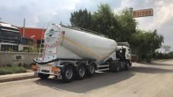 Nursan. Новый полуприцеп цементовоз сталь 35 м3