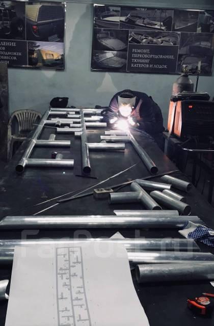 Металлоконструкции из всех видов металлов, Сварка аргоном, Выезд!
