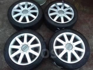 Оригинальные диски Audi R17 с шинами 235/45R17. 7.5x17 5x112.00 ET43 ЦО 57,1мм.