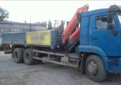 КамАЗ 65117-23. Автомобиль бортовой с КМУ Камаз 65117-N3, 2 000 куб. см., 1 000 кг.
