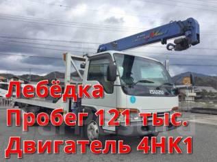 Isuzu Elf. Isuzu ELF 2002 Эвакуатор Без пробега по РФ, 5 200 куб. см., 2 600 кг. Под заказ