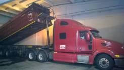 Peterbilt 387. Седельный тягач -2003г. и п/прицеп-2013г., 15 208 куб. см., 25 000 кг.