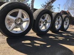 Комплект колес на 16, привезены с Японии. Отправлю в регионы РФ. 7.0x16 4x114.30, 5x114.30 ET35