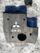 Защита двигателя пластиковая. Mitsubishi Pajero, V88W, V98W Mitsubishi Montero, V88W, V98W Двигатель 4M41