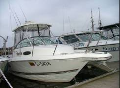 Аренда катера рыбалка камбала лакедра сима кальмар треска прогулки. 8 человек, 50км/ч