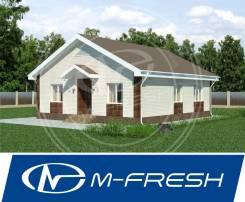 M-fresh Optimum Bonus! (Вентиляционные каналы, двускатная крыша! ). 100-200 кв. м., 1 этаж, 4 комнаты, бетон