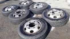 Bridgestone Duravis. Всесезонные, 2014 год, износ: 5%, 6 шт