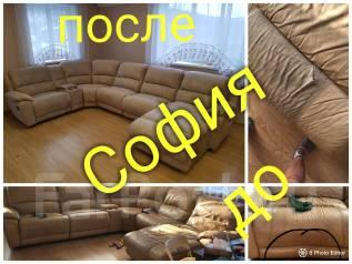 Перетяжка мягкой мебели на Дому Замена механизмов, пружин и поролона