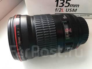 Объектив Canon EF 135mm f/2L USM. Для Canon, диаметр фильтра 72 мм