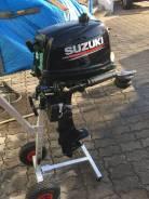 Suzuki. 5,00л.с., 4-тактный, бензиновый, нога S (381 мм), Год: 2016 год