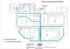 Монтаж вентиляции (вентиляционные системы) в бассейнах и др. пом.
