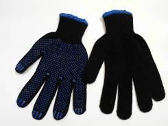 Перчатки х\б черные