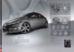 Honda. 7.5x18, 5x114.30, ET55