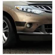 Накладка на бампер. Nissan Murano, Z51, Z51R