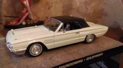 Ford Thunderbird Goldfinger. Масштаб 1:43. Настоящий Diecast. Раритет