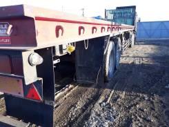 Trailmobil. Полуприцеп-платформа, 23 000 кг.
