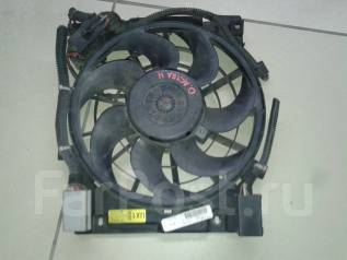 Вентилятор радиатора кондиционера. Opel Astra