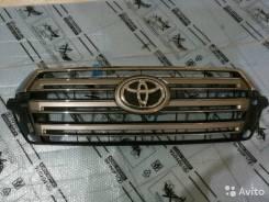 Решетка радиатора. Toyota Land Cruiser, GRJ200, URJ202, URJ202W, VDJ200 Двигатели: 1GRFE, 1URFE, 1VDFTV