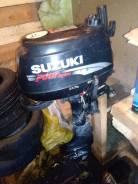 Suzuki. 5,00л.с., 4-тактный, бензиновый, нога S (381 мм), 2009 год