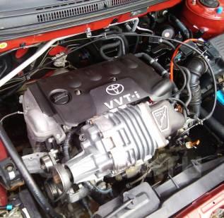 Двигатель в сборе. Toyota: Premio, Allion, Platz, Corolla Spacio, WiLL VS, Allex, ist, Vitz, Porte, Corolla, Probox, Funcargo, Raum, WiLL Cypha, Corol...