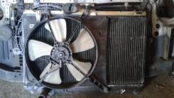 Радиатор охлаждения двигателя. Toyota Starlet, EP82