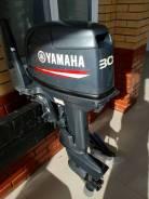 Yamaha. 30,00л.с., 2-тактный, бензиновый, нога S (381 мм), Год: 2014 год