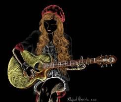 Обучение игре на акустической гитаре