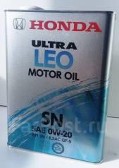 Honda Ultra Leo. Вязкость 0W20., синтетическое