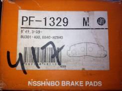 Колодка тормозная. Toyota ToyoAce, BU105, BU107, BU137, BU145, BU147, BU301, BU306, BU346, BU400, BU410, BU420, BZU300, BZU340, BZU410, RZU300, XKU304...