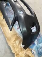 Бампер передний toyota corolla 150 рестайлинг без омывателей