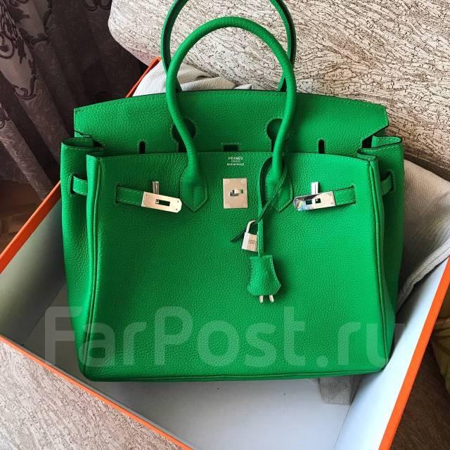 541864273963 Сумка Hermes Birkin 35 см в зеленом цвете со скидкой 50 ...