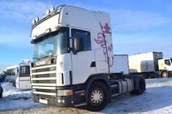 Scania R124. Седельный тягач LA4X2LA 420, 11 705 куб. см., 10 т и больше