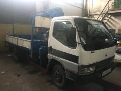 Mitsubishi Fuso Canter. Продается грузовик с манипулятором Mitsubishi Canter, 5 249куб. см., 4x2