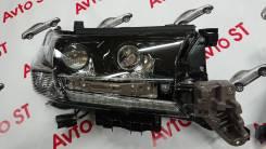 Фара. Toyota Land Cruiser, URJ202, URJ202W, VDJ200, UZJ200W, J200, GRJ200, URJ200, UZJ200 Двигатели: 1URFE, 1VDFTV, 2UZFE, 3URFE, 1GRFE