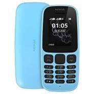 Nokia 105 2017. Новый, до 8 Гб, Синий, 3G, Dual-SIM, Кнопочный