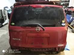 Дверь багажника. Nissan Note, E11, E11E, NE11, ZE11 Двигатели: HR15DE, HR16DE