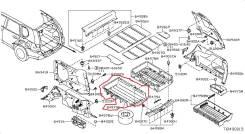 Ящик. Nissan X-Trail, DNT31, NT31, T31, T31R, TNT31 Двигатели: M9R, MR20DE, QR25DE