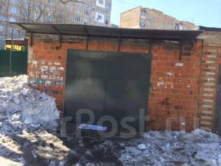 Гаражи капитальные. улица Сахалинская 17, р-н Тихая, 40 кв.м., электричество. Вид снаружи