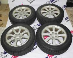 "Диски Subaru R16 6.5 +48 + Bridgestone Blizzak REVO GZ 205/50R16. 6.5x16"" 5x100.00 ET48"